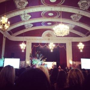 Regal Ballroom looking lovely.