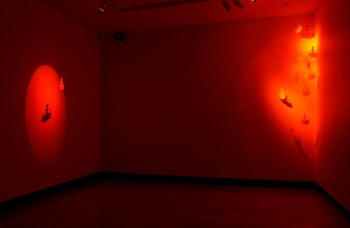 Installation at Ipswich Art Gallery, 2006.