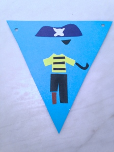 Selina Braine piratepaperbunting