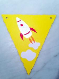Selina Braine rocketshippaperbunting