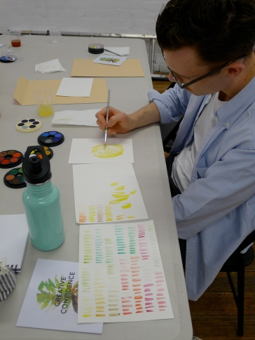 This is Gerard being a most excellent water-colourist.