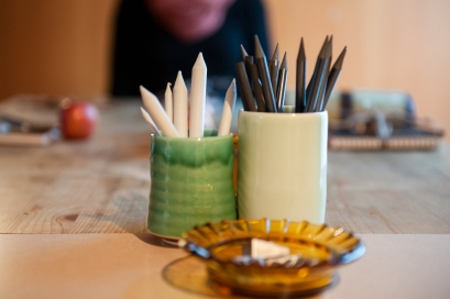 Drawing equipment from my workshop in early 2014. Photo by Samara Clifford.