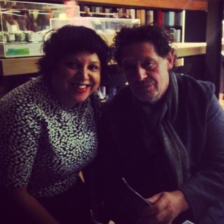 Oh and at the launch we got to meet Marco Pierre White - just saying.